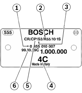 Search component data using Bosch QualityScan